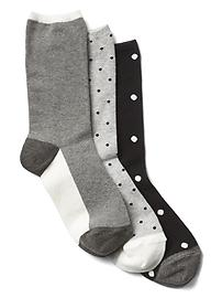 Mix crew socks (3-pack)