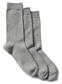 Basic crew socks (3-pack)