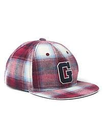 GapKids + Pendleton plaid baseball hat