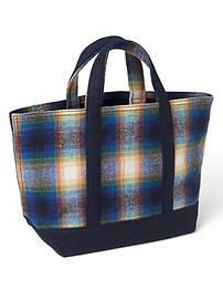 Gap x Pendleton small utility tote