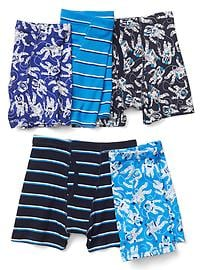 Astronaut trunks (5-pack)