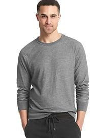 Ribbed lightweight longsleeve tee