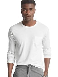 Long sleeve lounge tee