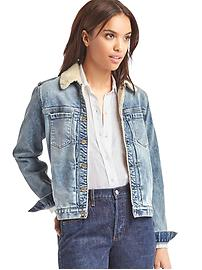 1969 sherpa denim jacket
