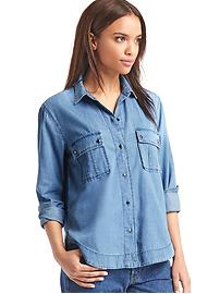 1969 denim utility shirt