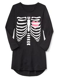Halloween long sleeve nightgown
