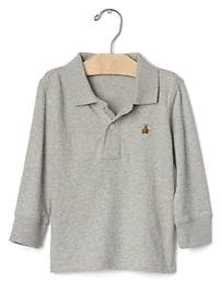 Brannan long sleeve polo