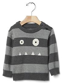 Spooky stripe sweater