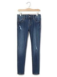 1969 high stretch destructed skinny jeans