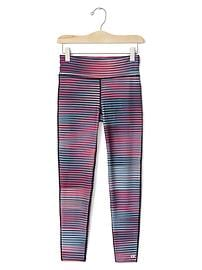 GapFit kids color stripe sport leggings