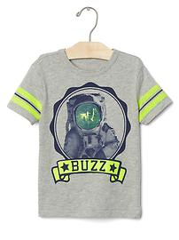 Buzz Aldrin athletic graphic tee