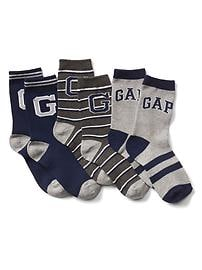 Stripe crew socks (3-pack)