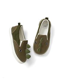 Dino slip-on sneakers