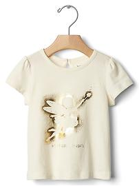 Happy little thoughts tee