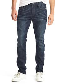 STRETCH 1969 destructed skinny fit jeans