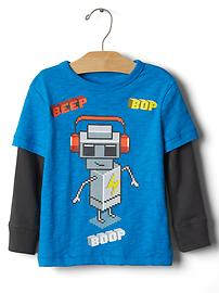 2-in-1 gamer graphic tee