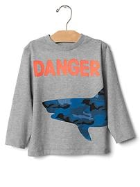 Graphic long sleeve tee
