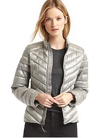 ColdControl Lite metallic puffer jacket