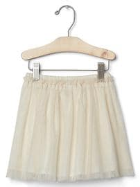 Tulle flippy skirt