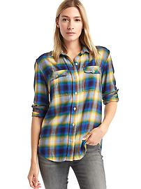Gap x Pendleton boyfriend shirt