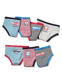 Firetruck days-of-the-week underwear (7-pack)