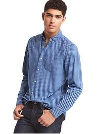 Oxford mini tattersall standard fit shirt