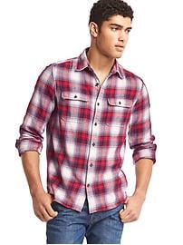 Gap + Pendleton flannel shirt