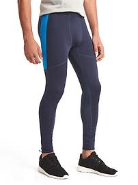 Lightweight running tights