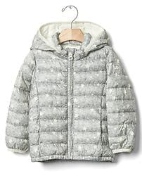 ColdControl Lite print quilted jacket