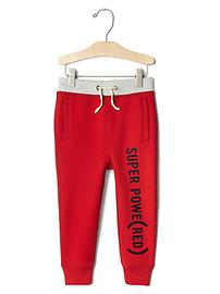babyGap x (RED) graphic sweats