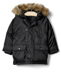 Warmest down snorkel parka