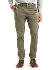 Stretch slim fit chinos