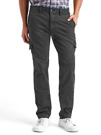 Stretch slim fit cargo pants