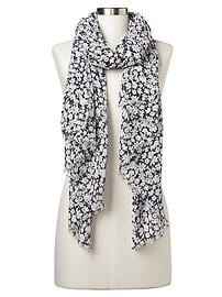 Bloom floral scarf