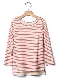 Printed double-knit tee