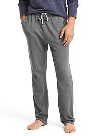 Double-face cotton lounge pants