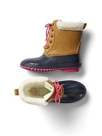 Cozy duck boots
