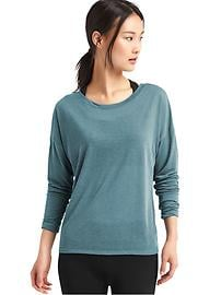 GapFit Breathe air long sleeve tee