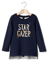Embellished star gazing tee