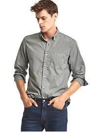 True wash solid standard fit shirt