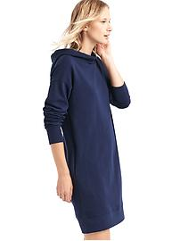 Relaxed hoodie dress