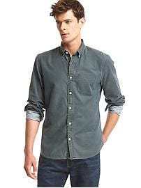 Oxford chambray standard fit shirt