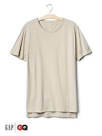 Gap x GQ John Elliott layered tee
