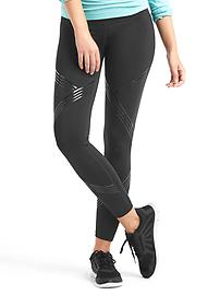 gFast cross train shine print leggings