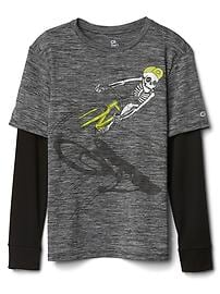 GapFit kids 2-in-1 graphic tee