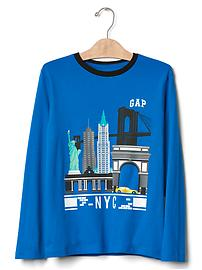 Big city graphic tee