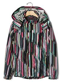GapFit kids color stripe  windbreaker