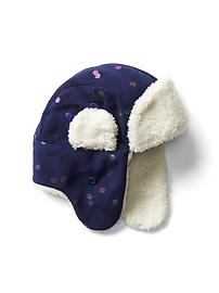 Pro Fleece sherpa trapper hat