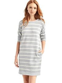 French  terry shift dress
