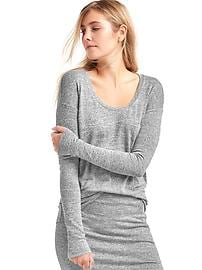 Softspun knit tunic top